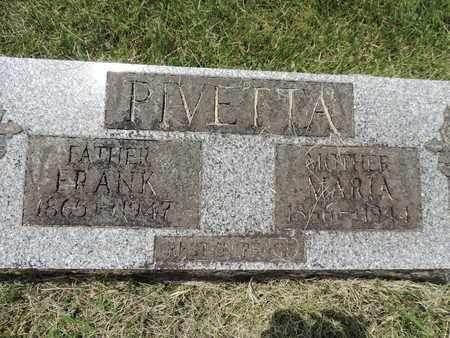 PIVETTA, FRANK - Franklin County, Ohio | FRANK PIVETTA - Ohio Gravestone Photos
