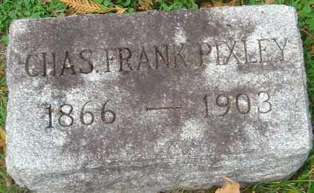 PIXLEY, CHARLES FRANK - Franklin County, Ohio | CHARLES FRANK PIXLEY - Ohio Gravestone Photos