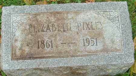 PIXLEY, ELIZABETH - Franklin County, Ohio | ELIZABETH PIXLEY - Ohio Gravestone Photos
