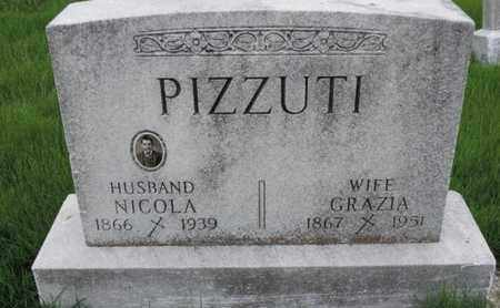 PIZZUTI, GRAZIA - Franklin County, Ohio | GRAZIA PIZZUTI - Ohio Gravestone Photos