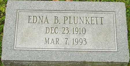 PLUNKETT, EDNA - Franklin County, Ohio | EDNA PLUNKETT - Ohio Gravestone Photos