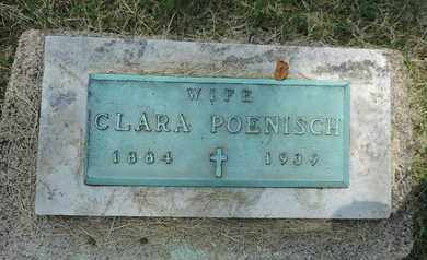 POENISCH, CLARA - Franklin County, Ohio | CLARA POENISCH - Ohio Gravestone Photos