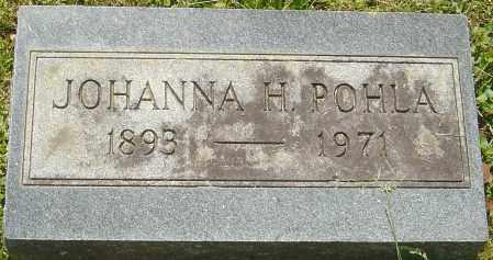 POHLA, JOHANNA H - Franklin County, Ohio | JOHANNA H POHLA - Ohio Gravestone Photos