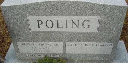 POLING, KENNETH EUGENE - Franklin County, Ohio | KENNETH EUGENE POLING - Ohio Gravestone Photos