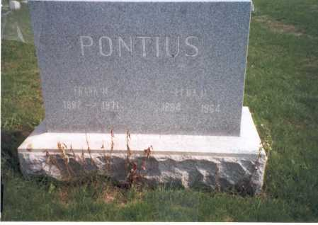 PONTIUS, LENA M. - Franklin County, Ohio | LENA M. PONTIUS - Ohio Gravestone Photos
