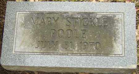 POOLE, MARY - Franklin County, Ohio | MARY POOLE - Ohio Gravestone Photos