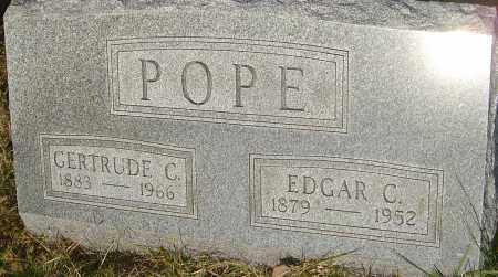 POPE, GERTRUDE C - Franklin County, Ohio | GERTRUDE C POPE - Ohio Gravestone Photos