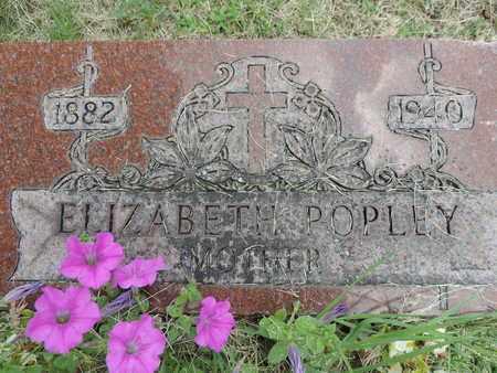 POPLEY, ELIZABETH - Franklin County, Ohio | ELIZABETH POPLEY - Ohio Gravestone Photos