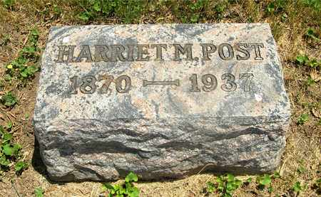 POST, HARRIET M. - Franklin County, Ohio | HARRIET M. POST - Ohio Gravestone Photos