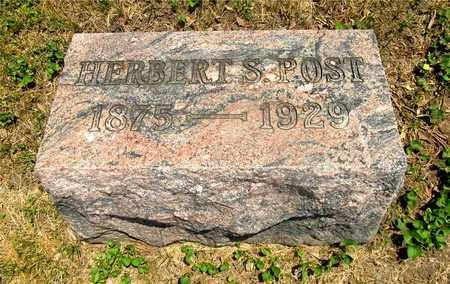POST, HERBERT S. - Franklin County, Ohio | HERBERT S. POST - Ohio Gravestone Photos