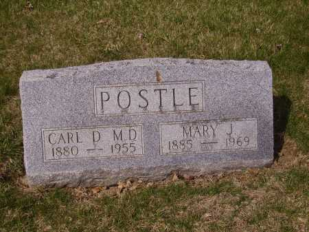 POSTLE, CARL D., MD - Franklin County, Ohio | CARL D., MD POSTLE - Ohio Gravestone Photos