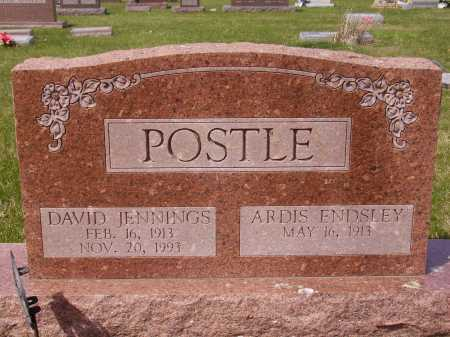 POSTLE, DAVID JENNINGS - Franklin County, Ohio | DAVID JENNINGS POSTLE - Ohio Gravestone Photos