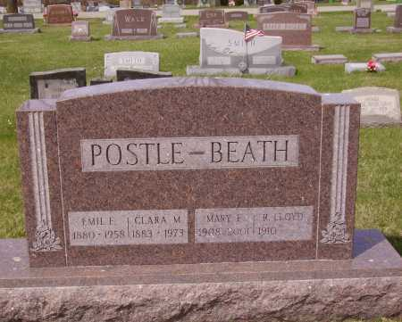 POSTLE, CLARA M. - Franklin County, Ohio | CLARA M. POSTLE - Ohio Gravestone Photos