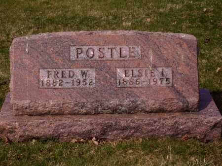 POSTLE, FRED W. - Franklin County, Ohio | FRED W. POSTLE - Ohio Gravestone Photos