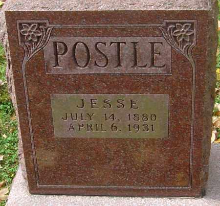 POSTLE, JESSE - Franklin County, Ohio | JESSE POSTLE - Ohio Gravestone Photos