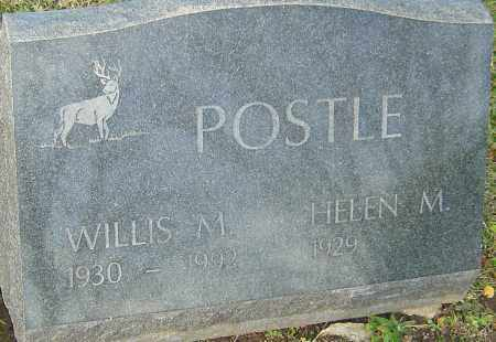 POSTLE, WILLIS - Franklin County, Ohio | WILLIS POSTLE - Ohio Gravestone Photos