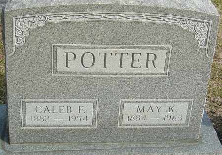 POTTER, CALEB FULLER - Franklin County, Ohio | CALEB FULLER POTTER - Ohio Gravestone Photos