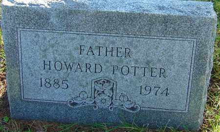 POTTER, HOWARD - Franklin County, Ohio | HOWARD POTTER - Ohio Gravestone Photos