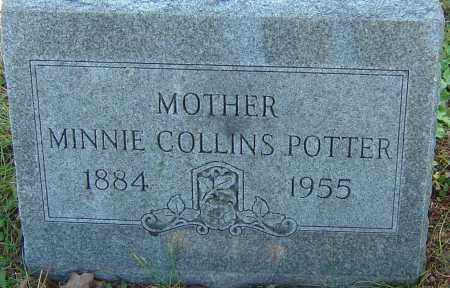 COLLINS POTTER, MINNIE - Franklin County, Ohio | MINNIE COLLINS POTTER - Ohio Gravestone Photos