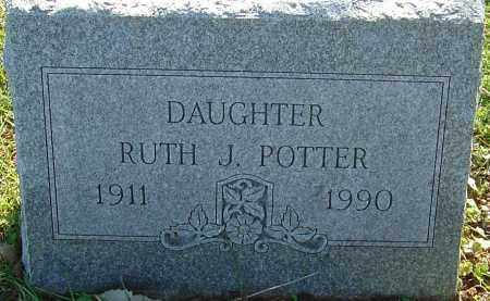 POTTER, RUTH J - Franklin County, Ohio | RUTH J POTTER - Ohio Gravestone Photos