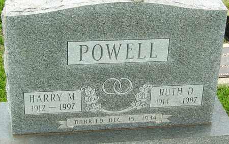 POWELL, RUTH D - Franklin County, Ohio | RUTH D POWELL - Ohio Gravestone Photos