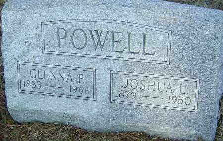 POWELL, GLENNA P - Franklin County, Ohio | GLENNA P POWELL - Ohio Gravestone Photos