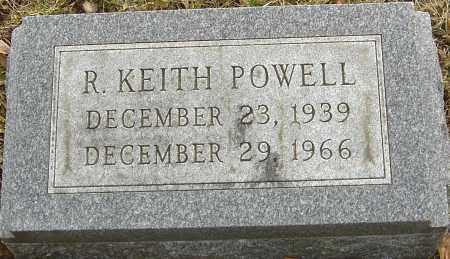 POWELL, R KEITH - Franklin County, Ohio   R KEITH POWELL - Ohio Gravestone Photos