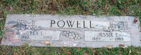 POWELL, JESSIE E. - Franklin County, Ohio | JESSIE E. POWELL - Ohio Gravestone Photos