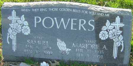 POWERS, MARJORIE A - Franklin County, Ohio | MARJORIE A POWERS - Ohio Gravestone Photos
