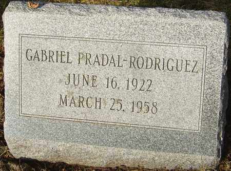 PRADAL-RODRIGUEZ, GABRIEL - Franklin County, Ohio | GABRIEL PRADAL-RODRIGUEZ - Ohio Gravestone Photos
