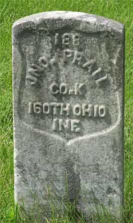 PRALL, JNO. - Franklin County, Ohio | JNO. PRALL - Ohio Gravestone Photos