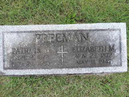 FREEMAN, PATRICK H. - Franklin County, Ohio | PATRICK H. FREEMAN - Ohio Gravestone Photos