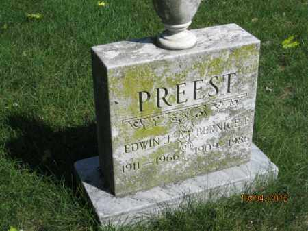 PREEST, EDWIN JOSEPH - Franklin County, Ohio | EDWIN JOSEPH PREEST - Ohio Gravestone Photos
