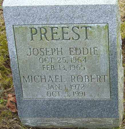 PREEST, JOSEPH EDDIE - Franklin County, Ohio | JOSEPH EDDIE PREEST - Ohio Gravestone Photos
