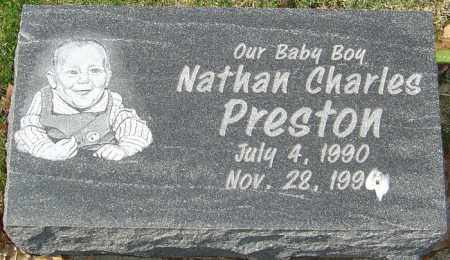 PRESTON, NATHAN CHARLES - Franklin County, Ohio | NATHAN CHARLES PRESTON - Ohio Gravestone Photos