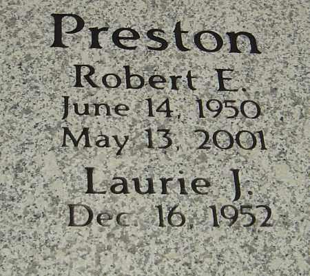 PRESTON, ROBERT E - Franklin County, Ohio | ROBERT E PRESTON - Ohio Gravestone Photos