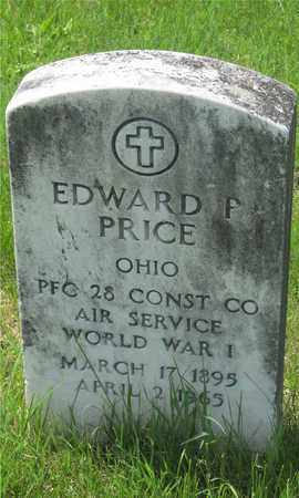 PRICE, EDWARD P. - Franklin County, Ohio | EDWARD P. PRICE - Ohio Gravestone Photos