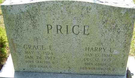 PRICE, HARRY L - Franklin County, Ohio | HARRY L PRICE - Ohio Gravestone Photos