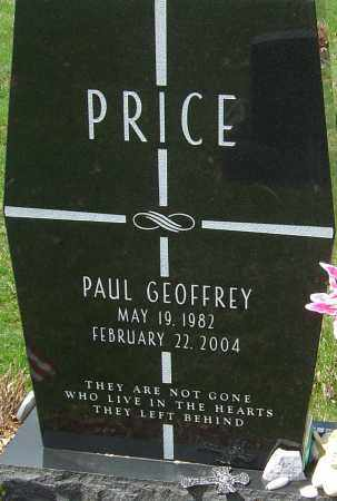 PRICE, PAUL GEOFFREY - Franklin County, Ohio | PAUL GEOFFREY PRICE - Ohio Gravestone Photos