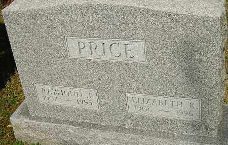PRICE, ELIZABETH - Franklin County, Ohio | ELIZABETH PRICE - Ohio Gravestone Photos