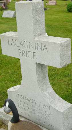LACAGNINA PRICE, ROSEMARY JOAN - Franklin County, Ohio | ROSEMARY JOAN LACAGNINA PRICE - Ohio Gravestone Photos
