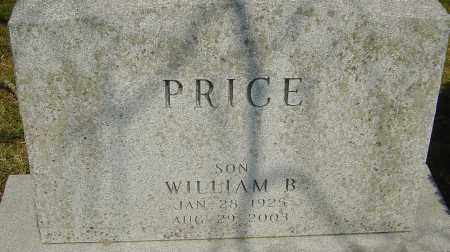 PRICE, WILLIAM B - Franklin County, Ohio | WILLIAM B PRICE - Ohio Gravestone Photos