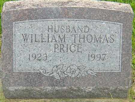 PRICE, WILLIAM THOMAS - Franklin County, Ohio | WILLIAM THOMAS PRICE - Ohio Gravestone Photos