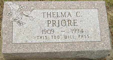 PRIORE, THELMA C - Franklin County, Ohio | THELMA C PRIORE - Ohio Gravestone Photos