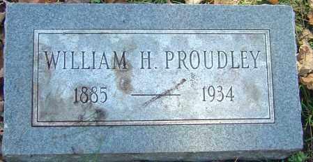 PROUDLEY, WILLIAM H - Franklin County, Ohio | WILLIAM H PROUDLEY - Ohio Gravestone Photos