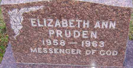 PRUDEN, ELIZABETH ANN - Franklin County, Ohio | ELIZABETH ANN PRUDEN - Ohio Gravestone Photos