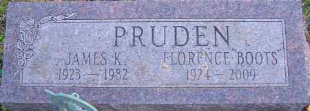 PRUDEN, JAMES - Franklin County, Ohio | JAMES PRUDEN - Ohio Gravestone Photos