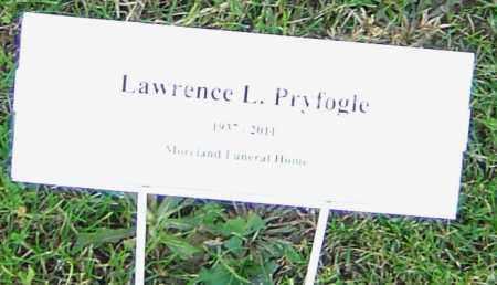 PRYFOGLE, LAWRENCE L - Franklin County, Ohio   LAWRENCE L PRYFOGLE - Ohio Gravestone Photos