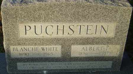 PUCHSTEIN, ALBERT - Franklin County, Ohio | ALBERT PUCHSTEIN - Ohio Gravestone Photos