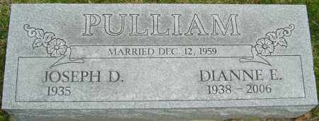 PULLIAM, DIANNE E - Franklin County, Ohio | DIANNE E PULLIAM - Ohio Gravestone Photos